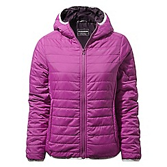 Craghoppers - Pink compresslite hooded jacket