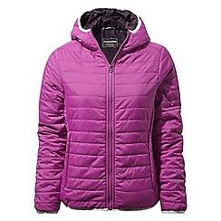 Craghoppers - Pink compresslite hooded jacket