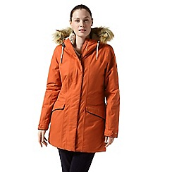 Craghoppers - Orange 'Inga' waterproof jacket