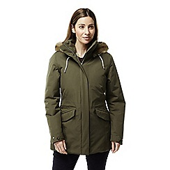 Craghoppers - Green 'Josefine' waterproof jacket