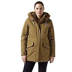 Craghoppers - Brown 'Josefine' waterproof jacket