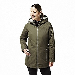 Craghoppers - Green 'Madigan' classic thermic waterproof jacket