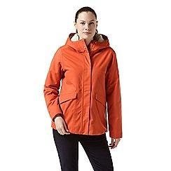 Craghoppers - Orange 'Lindi' waterproof jacket