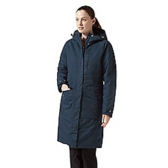 Craghoppers - Blue mhairi waterproof insulating jacket