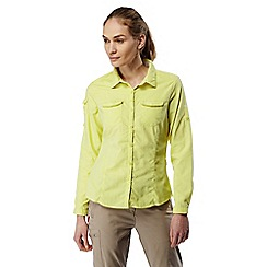 Craghoppers - Limeade Nosilife adventure long sleeved shirt