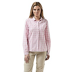 Craghoppers - Pink candelo shirt