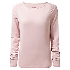 Craghoppers - Pink nosilife erin long sleeved top