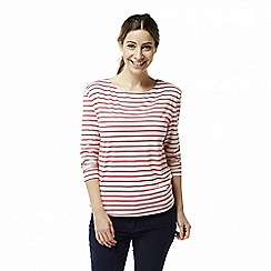 Craghoppers - Red 'Delamere' long sleeved top