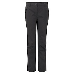 Craghoppers - Black airedale trousers - long leg