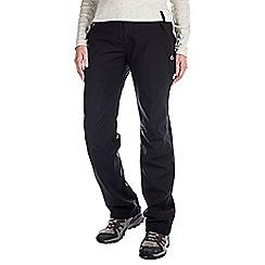 Craghoppers - Black aysgarth waterproof trousers - short leg