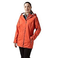 Craghoppers - Orange 'Madigan' classic waterproof jacket