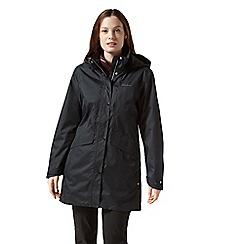 Craghoppers - Black aird waterproof insulated jacket