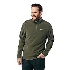 Craghoppers - Green 'Corey' half zip fleece