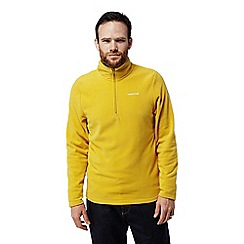 Craghoppers - Yellow 'Corey' half zip fleece