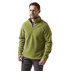 Craghoppers - Green 'Barston' half zip fleece