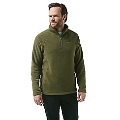 Craghoppers - Green 'Barston' half zip fleece