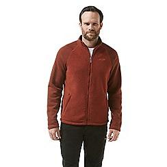 Craghoppers - Red mackay insulating fleece jacket