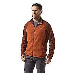 Craghoppers - Orange mackay insulating fleece jacket