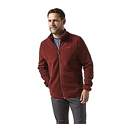 Craghoppers - Red Cleland fleece jacket