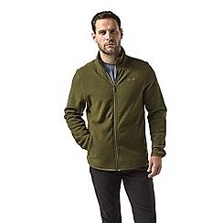 Craghoppers - Green Cleland fleece jacket