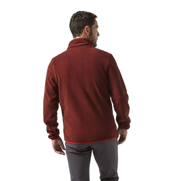 jacket Red Craghoppers fleece Craghoppers Red Cleland ETpRXqx0x