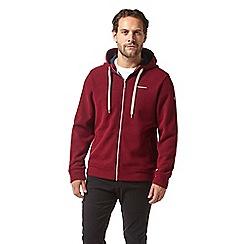 Craghoppers - Red 'Ricarda' fleece jacket