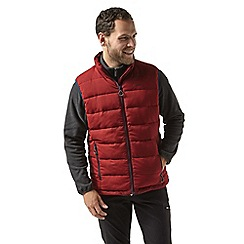 Craghoppers - Red eldrick down like vest