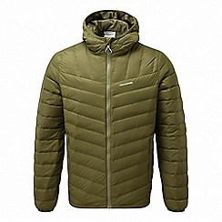 Craghoppers - Green 'Brompton' natural down insulating jacket