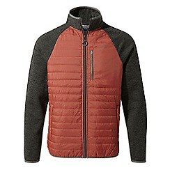 Craghoppers - Red Monto hybrid fleece jacket