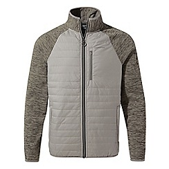 Craghoppers - Grey Monto hybrid fleece jacket