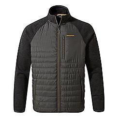 Craghoppers - Grey 'Monto' hybrid fleece jacket