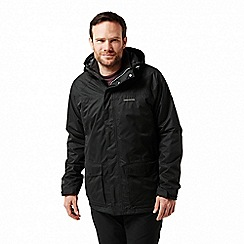 Craghoppers - Black 'Thurston' 3 in1 waterproof jacket