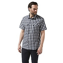 Craghoppers - Blue crooble Short sleeved check shirt