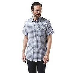 Craghoppers - Blue garah Short sleeved shirt