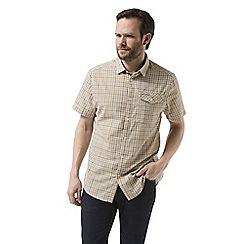Craghoppers - Yellow garah Short sleeved shirt