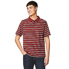 Craghoppers - Red geraldton short sleeved polo shirt
