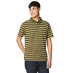Craghoppers - Green geraldton short sleeved polo shirt