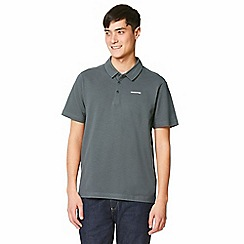 Craghoppers - Grey geraldton short sleeved polo shirt