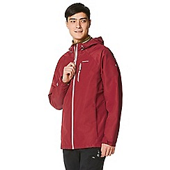 Craghoppers - Red crawney waterproof hooded jacket
