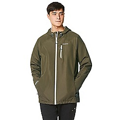 Craghoppers - Green crawney waterproof hooded jacket