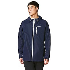 Craghoppers - Blue crawney waterproof hooded jacket