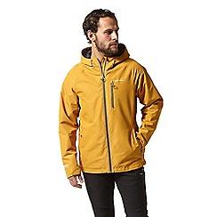Craghoppers - Yellow crawney waterproof hooded jacket
