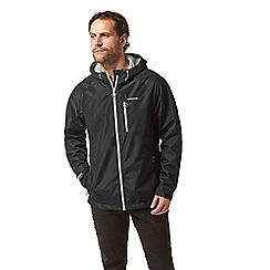 Craghoppers - Black crawney waterproof hooded jacket