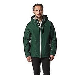 Craghoppers - Green crawney waterproof hooded jacket