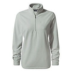 Craghoppers - Grey 'Miska' half zip fleece