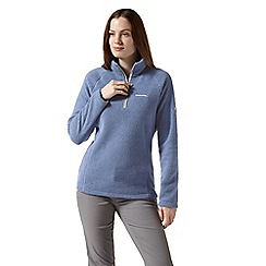 Craghoppers - Blue 'Moira' half zip insulating fleece