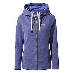 Craghoppers - Blue lindell hooded jacket