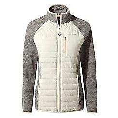 Craghoppers - Grey lumeah hybrid jacket