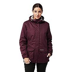 Craghoppers - Red 'Steena' 3 in 1 waterproof jacket