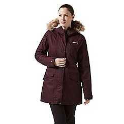 Craghoppers - Red 'Ferness' waterproof insulated jacket
